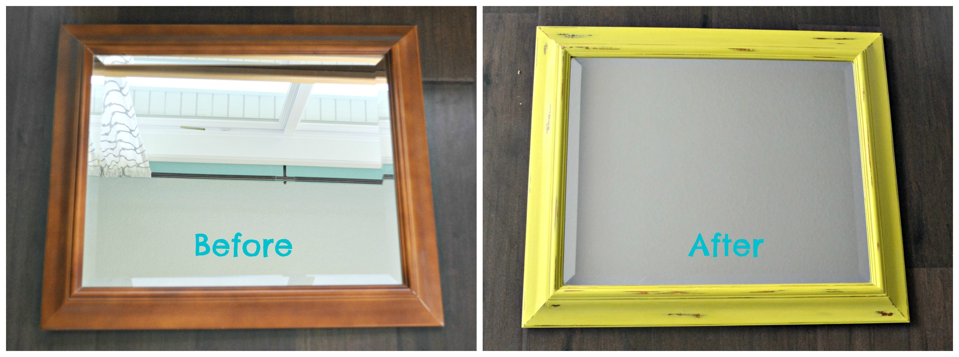 Diy Painted Mirror Frame. I Diy Painted Mirror Frame - Akiliboon.co