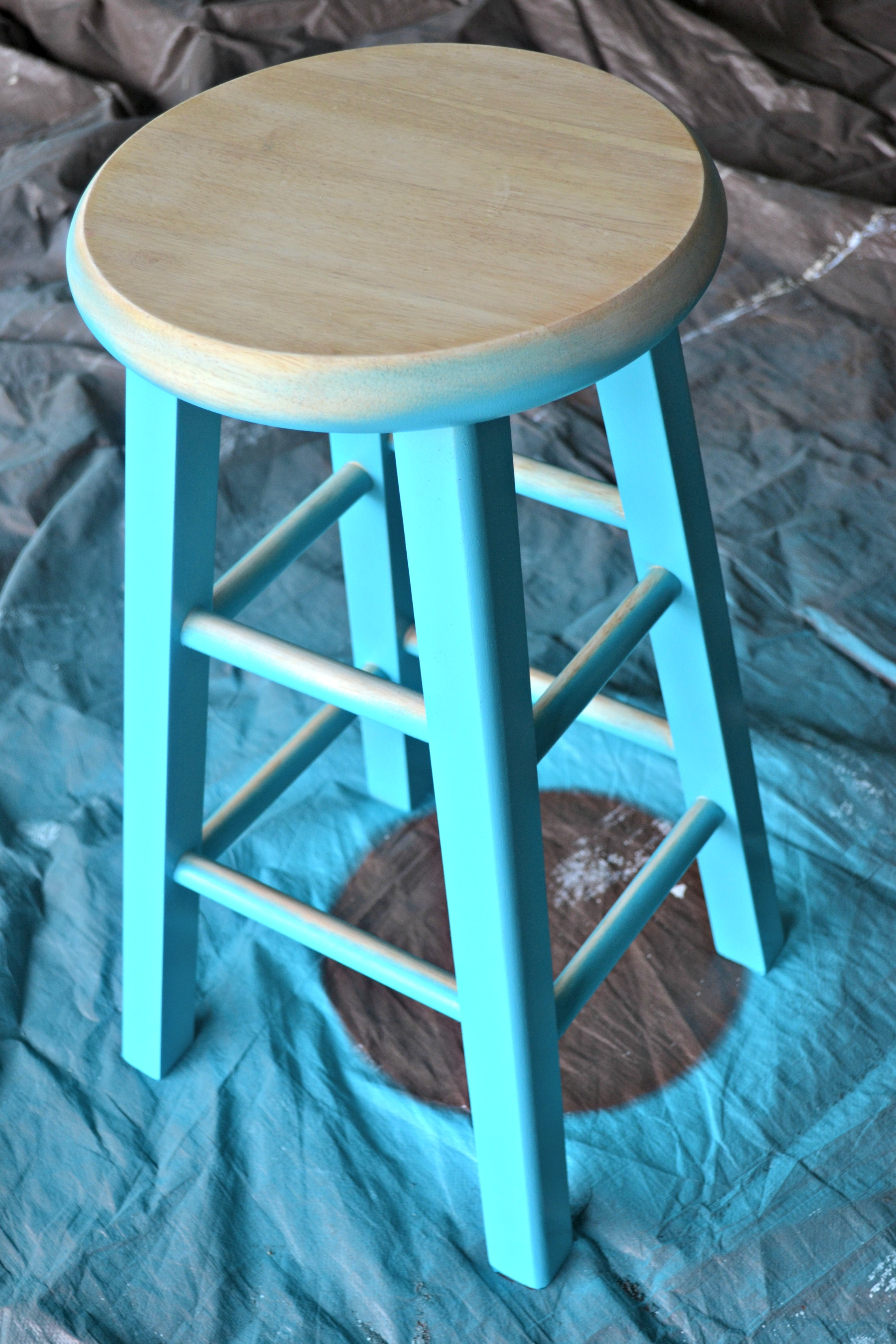 Update Furniture You Already Own Diy Spray Painted Bar
