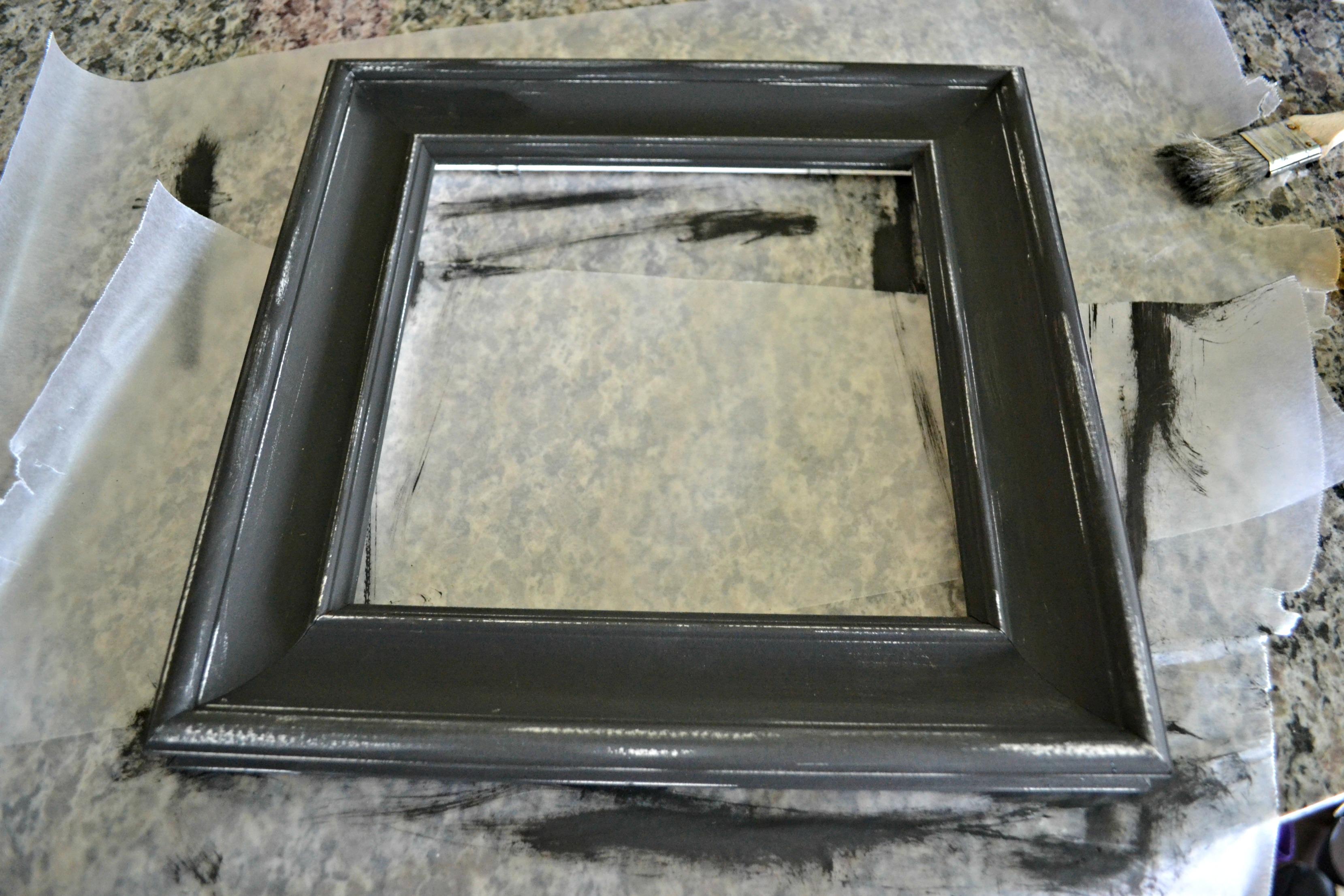 Exelent Chalkboard Paint Picture Frame Festooning - Ideas de Marcos ...