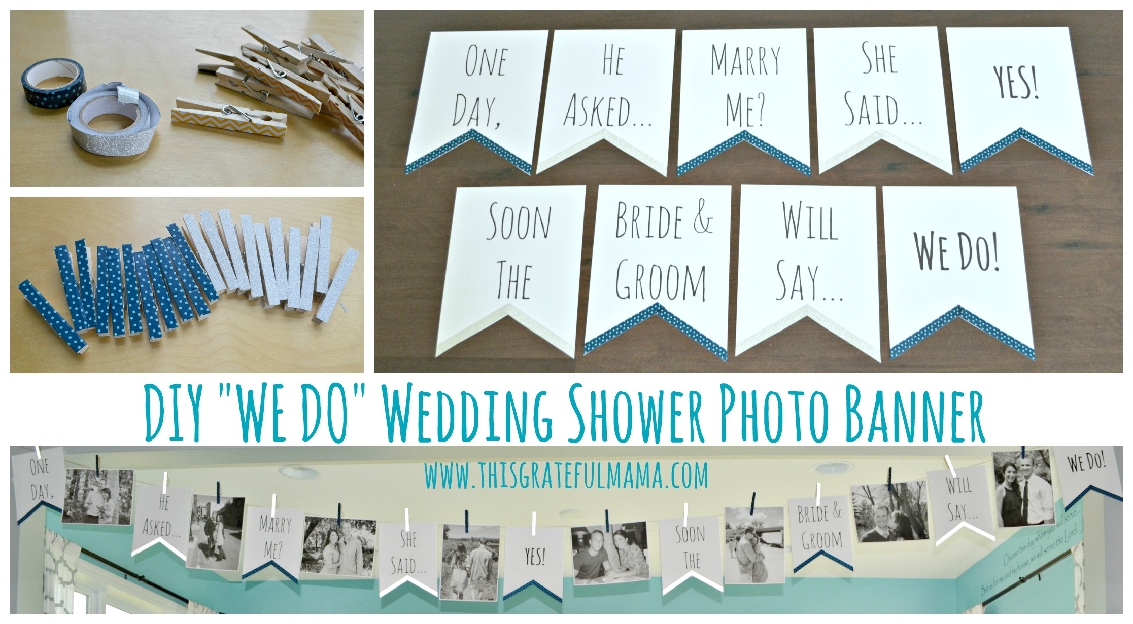 Perfect A Couples Wedding Shower | This Grateful Mama LF58